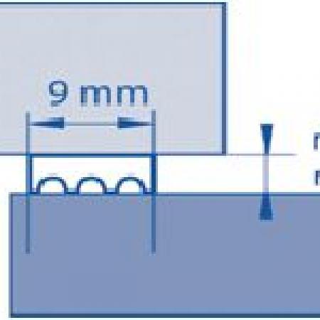 Keenso 1 pi/èces Doublure de Pneu de v/élo de Montagne Coussin de Tube de Pneu de v/élo Doublure sous Vide Ruban adh/ésif 4 Tailles Protection des pneus